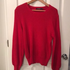 Lauren Red Sweater - like new